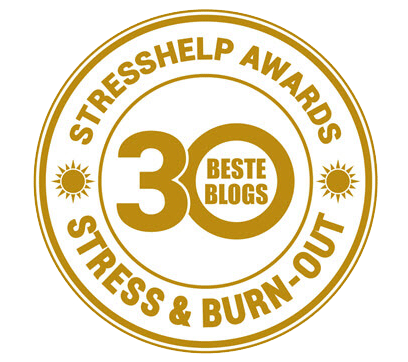 Award beste blog omgaan met stress en burn-out